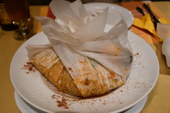 anogi restaurant santorini seafood orzo pasta