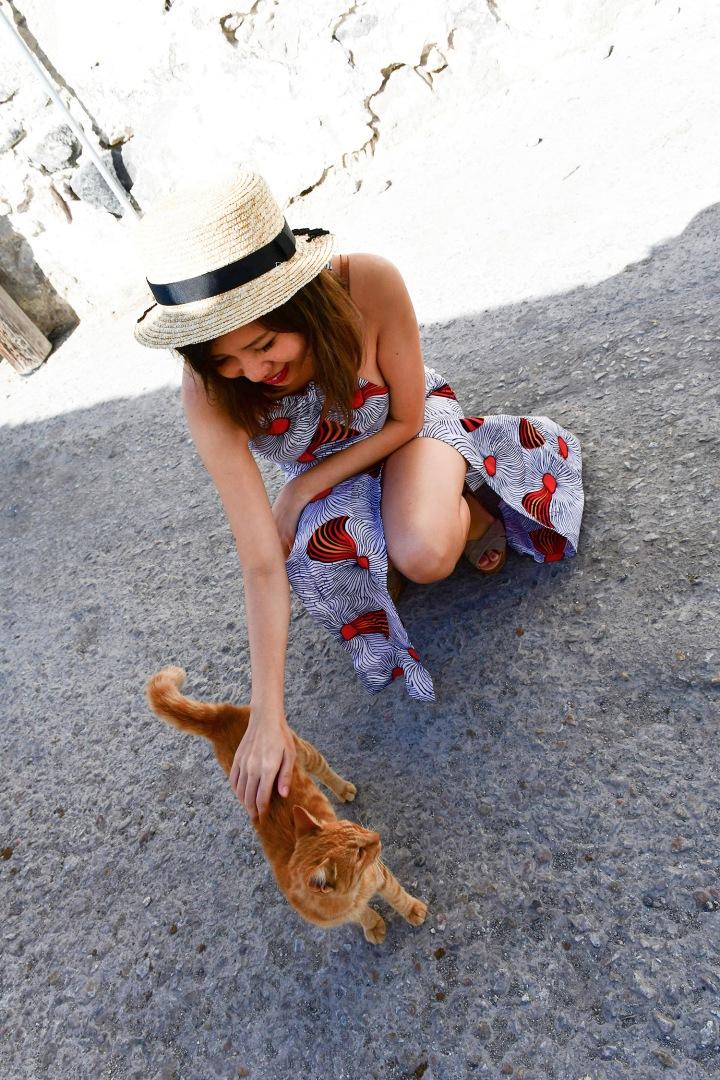 emporio village cave villa friendly cat.jpg