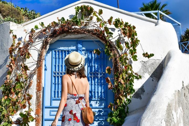 emporio village cave villa wanderlust customised hat