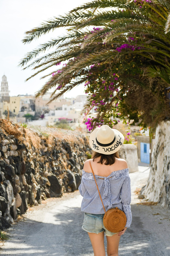 emporio village stroll twobakedbuns hat and ata rattan bag