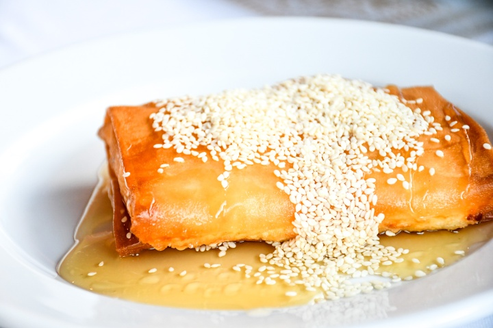 metaxi mas santorini filo cheese pastry